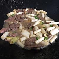泡椒藕带炒牛肉的做法图解9