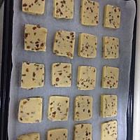 葡萄干切片饼干的做法图解6