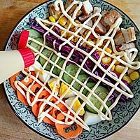 彩虹沙拉――增肌减脂两不误的健身餐的做法图解11