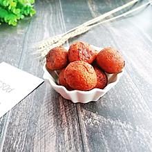 简单易学的红薯丸子