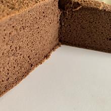 十寸巧克力戚风蛋糕