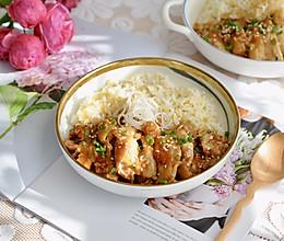#快手又营养,我家的冬日必备菜品#照烧鸡腿饭的做法