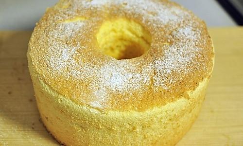 柚子戚风蛋糕的做法