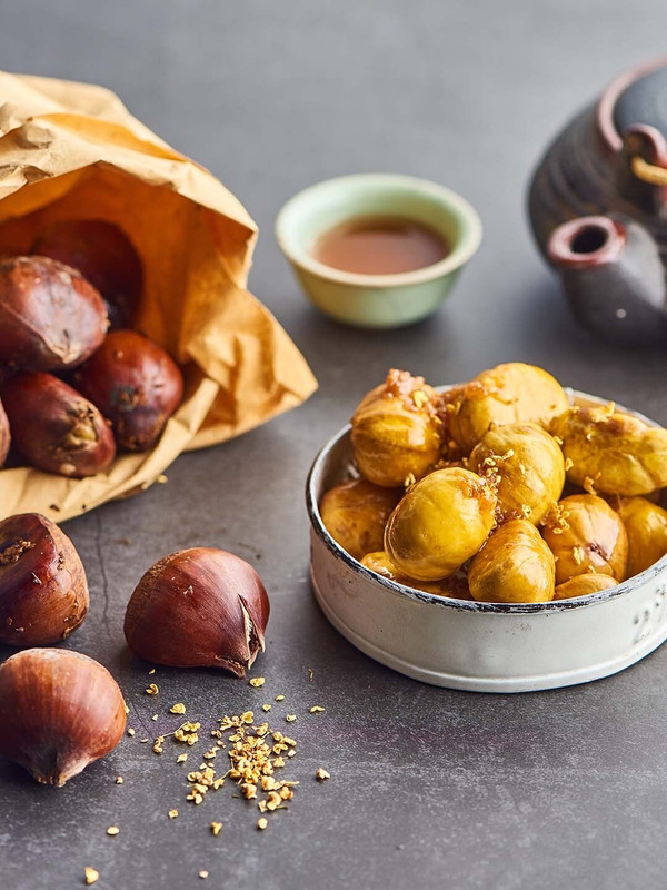 桂花糖烤栗子——米博版的做法