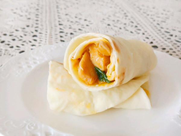 #一人一道拿手菜#墨西哥鸡肉卷的做法