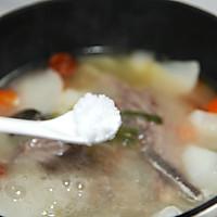 萝卜羊排骨汤#肉食者联盟#的做法图解7