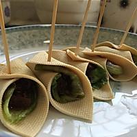 豆腐皮卷香菇酱的做法图解5