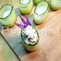 金枪鱼黄瓜寿司的做法图解11