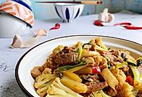 干锅花菜炒五花肉 一个人光盘那都不是个事的做法
