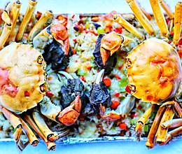 美食丨膏蟹焗饭 鲜香弥漫 垂涎何止三尺!的做法