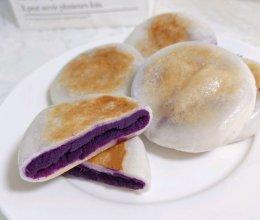 简单易做!软糯香甜的紫薯糯米饼的做法