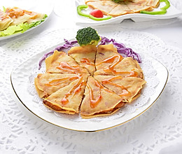 台湾夜市小吃月亮虾饼的做法