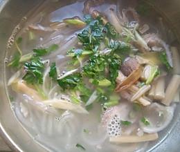 黄花肚丝汤的做法