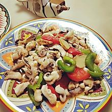 家庭日常快手菜沙姜焖八爪鱼