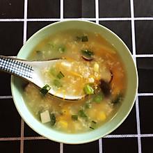 雞蓉蔬菜粥