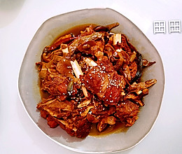 干豆角香菇炖排骨的做法