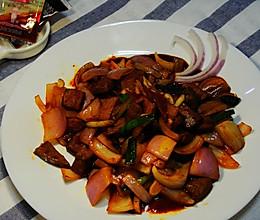 川香牛肉#丘比沙拉汁#的做法