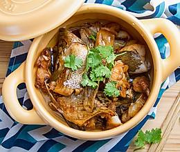 砂锅焗鳜鱼的做法