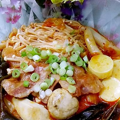 冬日里暖暖~泡菜汤的做法 步骤7