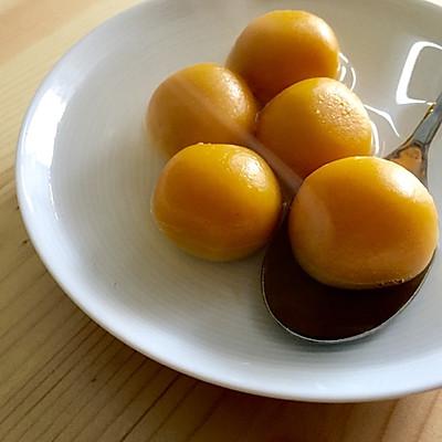 南瓜汤圆(燕麦奶酪内馅)—— 一人食