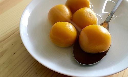 南瓜汤圆(燕麦奶酪内馅)—— 一人食的做法