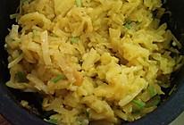 石锅咖喱芝士土豆丝的做法