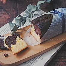 香橙巧克力双色磅蛋糕