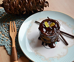 两分钟巧克力蛋糕_微波炉懒人版的做法