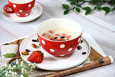 蛋白营养粉燕麦粥-孕期早餐加餐食谱
