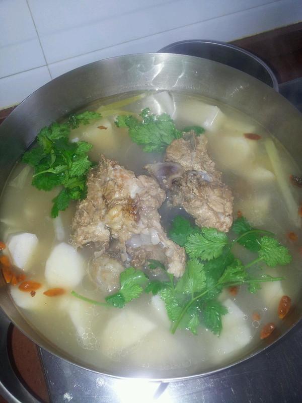 山药大骨头汤的做法