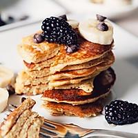 减脂健身— 无糖无面粉香蕉松饼
