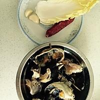 鲜咸蟹粥的做法图解3