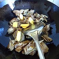 大喜大牛肉粉试用之---黑豆焖牛腩的做法图解3