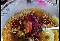 萄气冰粉~美食的做法