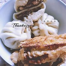 香菇猪肉鲜虾小笼包
