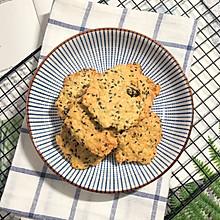 植物油版燕麦薄片饼干