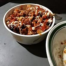 脆皮鸡米饭