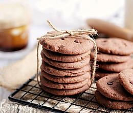 【一食呓语】巧克力曲奇饼干。的做法