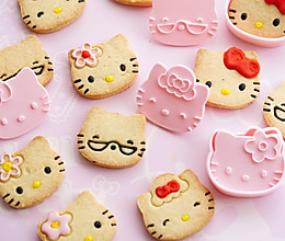 萌萌Kitty饼干,给孩子六一节的礼物的做法