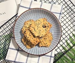 植物油版燕麦薄片饼干的做法
