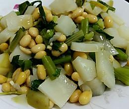 辣辣菜(黄豆芥菜)的做法