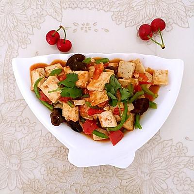 西红柿炒豆腐