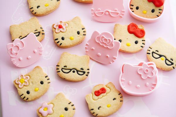 萌萌Kitty饼干,给孩子六一节的礼物