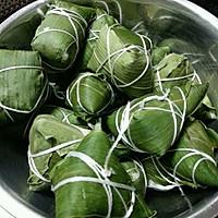 端午节的五花肉粽,附白粽子蜜枣粽做法!的做法图解8