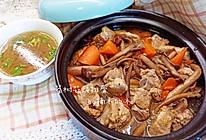 茶树菇煲排骨的做法