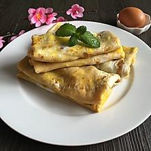 鸡蛋杂粮煎饼(改良版)