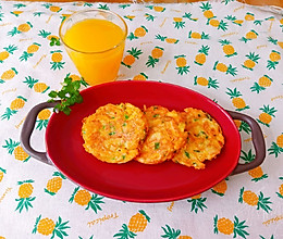 十分钟快手早餐~红薯鸡蛋饼的做法