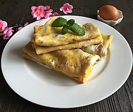鸡蛋杂粮煎饼(改良版)的做法