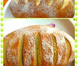 无蛋奶全麦面包的做法
