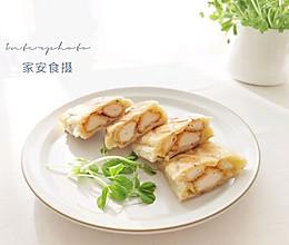 手抓饼花样新吃法(二)【爆浆鸡柳三明治】的做法